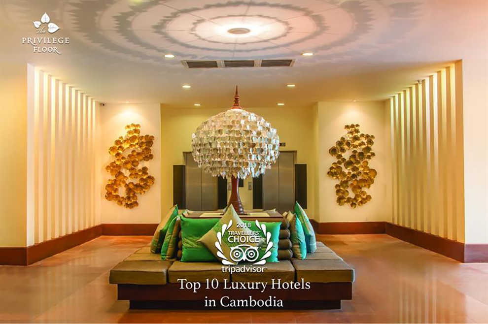 The Privilege Floors Chosen As Top Luxury Hotels In Cambodia