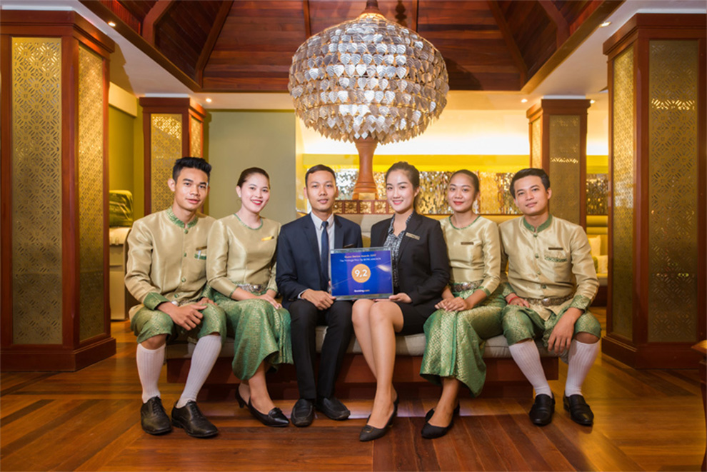 The Privilege Floor by BOREI ANGKOR Gains Guest Review Awards 2017