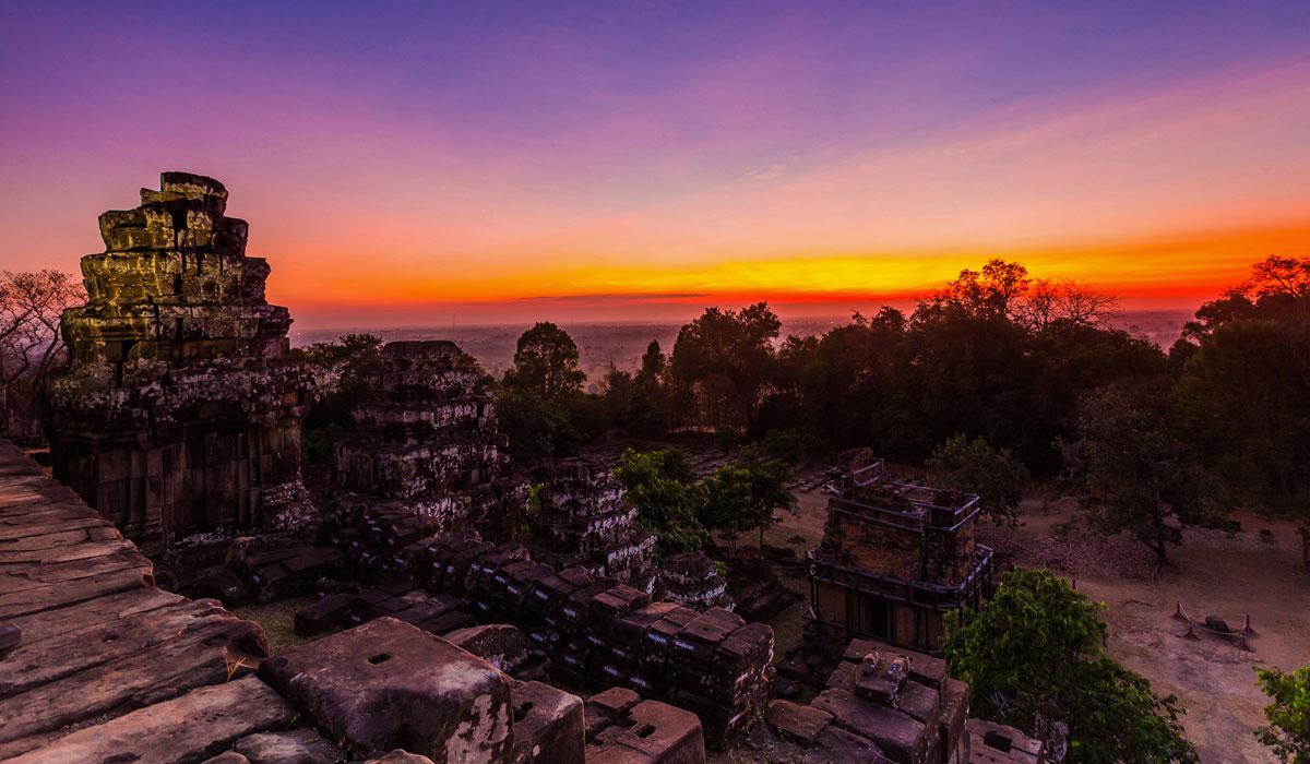 Bakeng Mountain Sunset