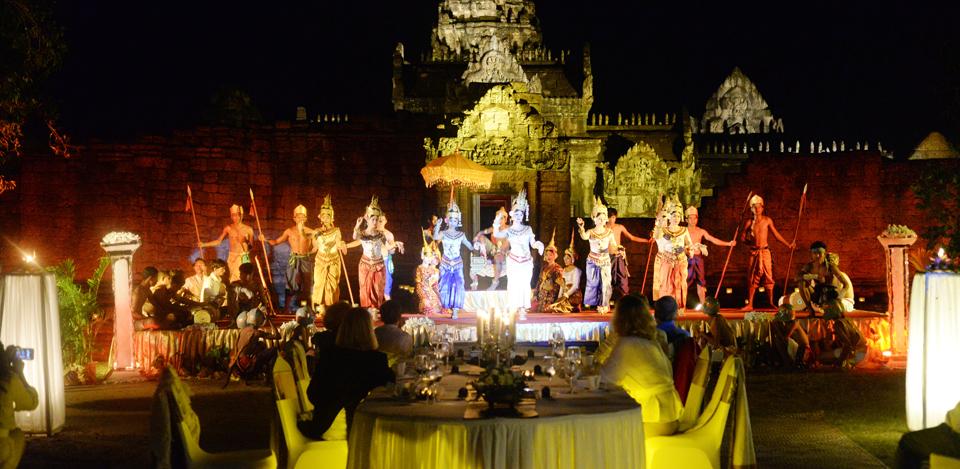 Temple dinging at banteay samre