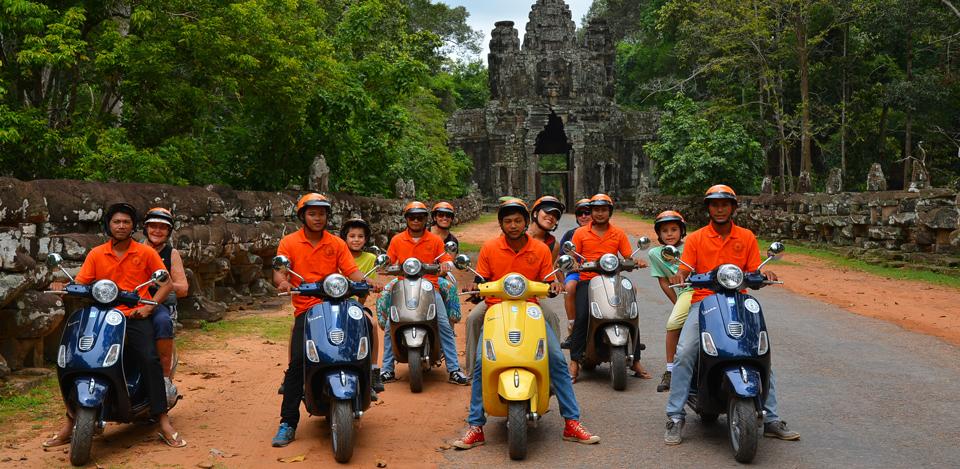 Vespa cambodia
