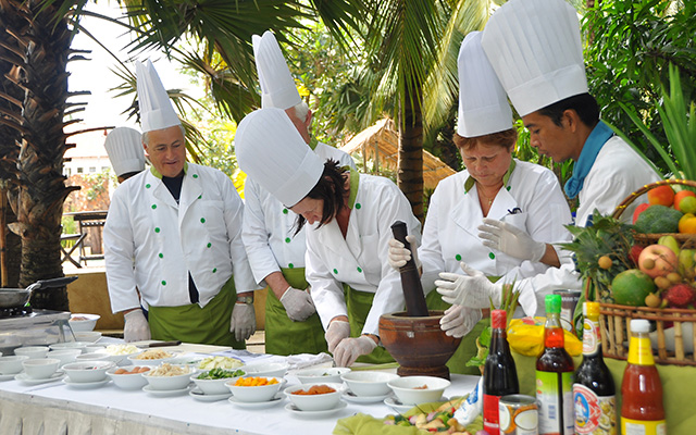 A Class for Cooking Khmer Cuisine