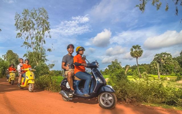 Siem Reap Vespa Adventures